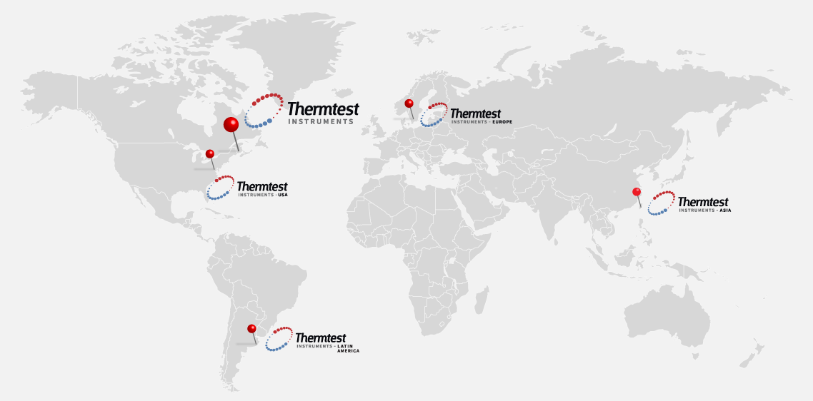 thermtest global map