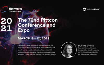 Thermtest Inc. will be attending the 72nd installment of Pittcon
