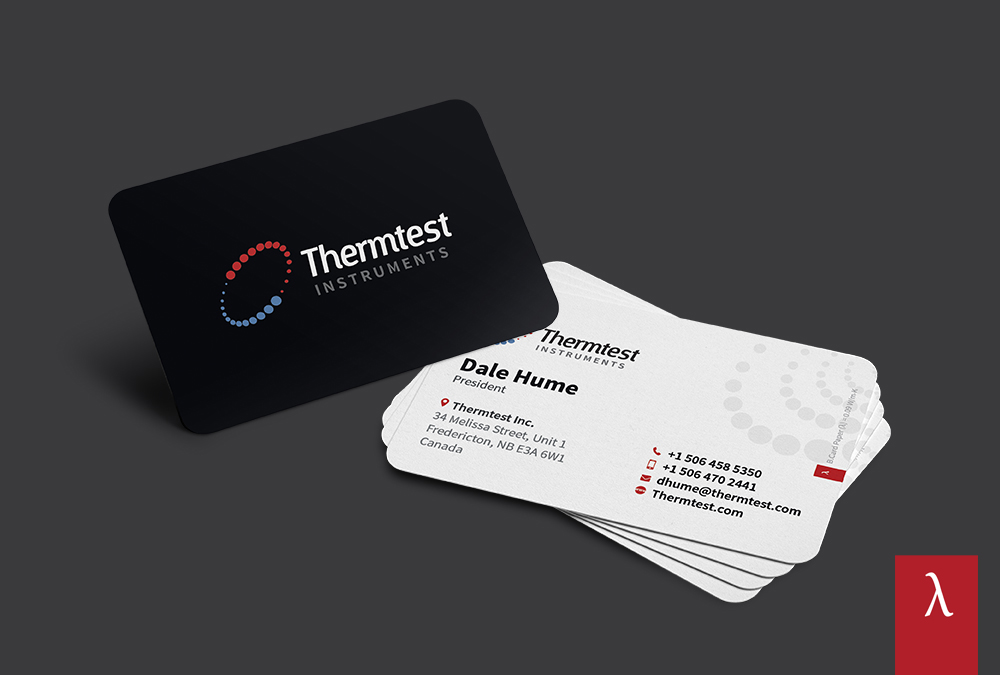 Thermal Conductivity of Business Card