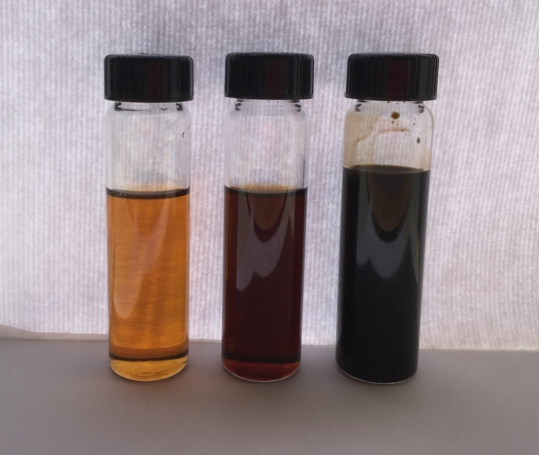 Thermal conductivity of Fresh and Used Engine Oil