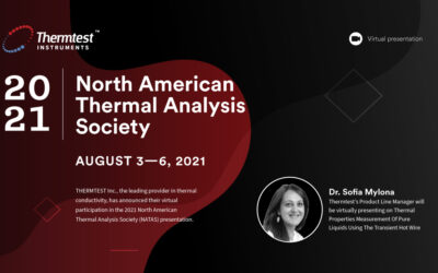 Thermtest Inc. will be attending the 47th NATAS Conference