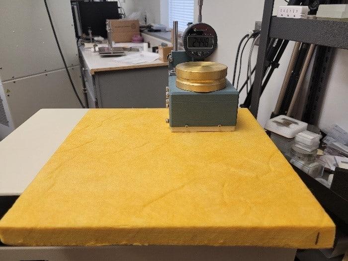 Measurement of Aerogel Blanket