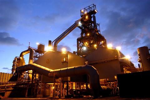 Steel factory