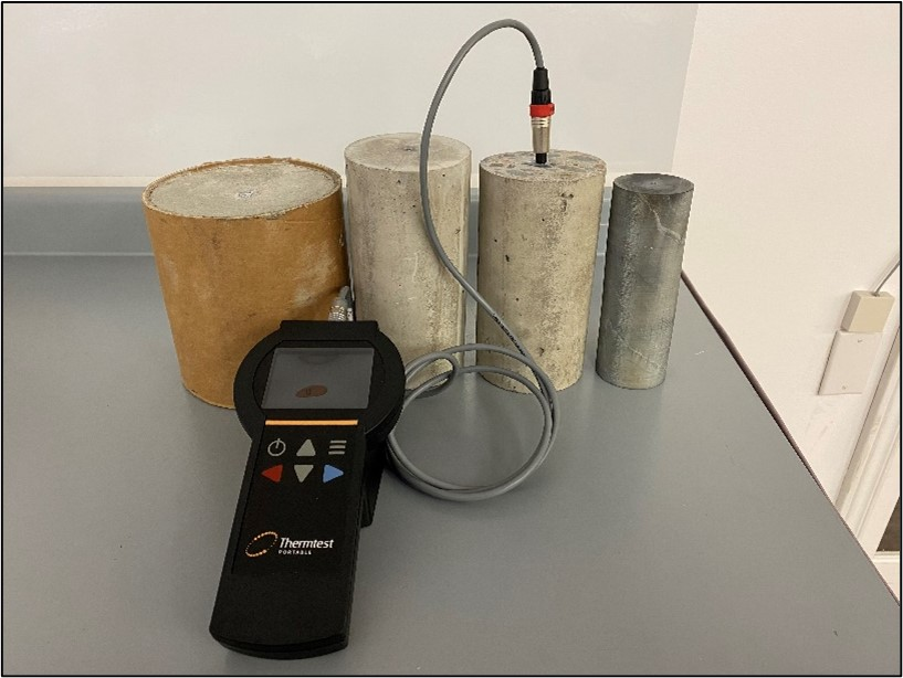 TLS 50mm Application: Thermal Conductivity of Concrete
