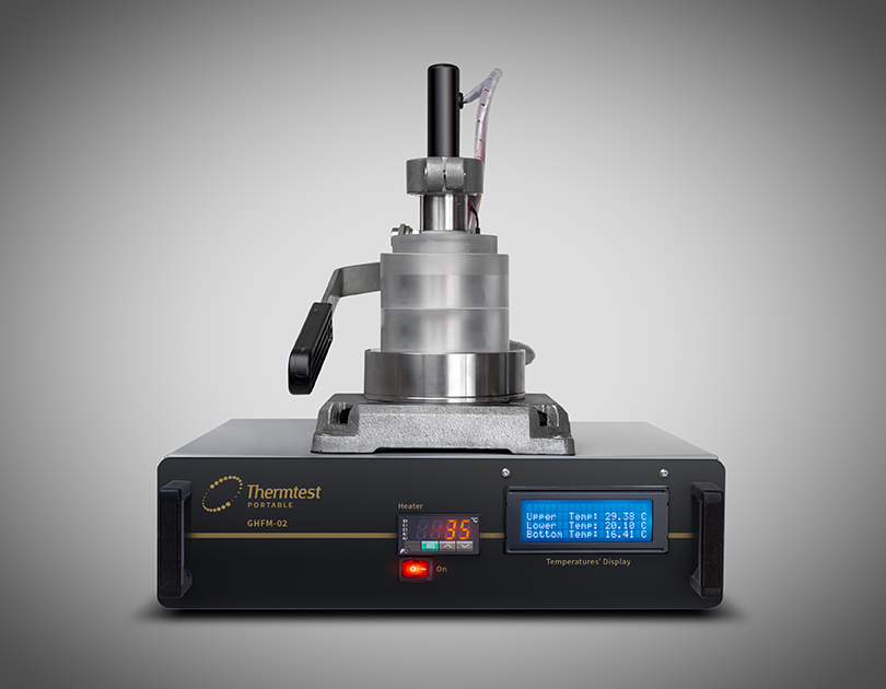Measuring the Thermal Conductivity of 3D Printed Materials with GHFM-02