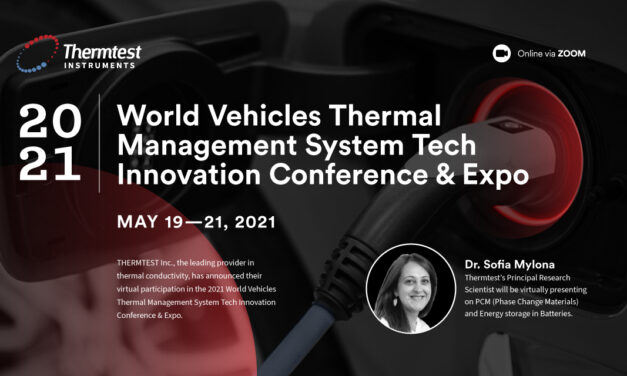 Thermtest Inc. will be attending the 2021 World Vehicles Thermal Management System Tech Innovation Conference & Expo (WVTMS)