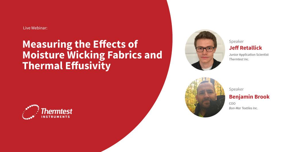 Webinar-TPS-EFF measurement of moisture wicking fabric