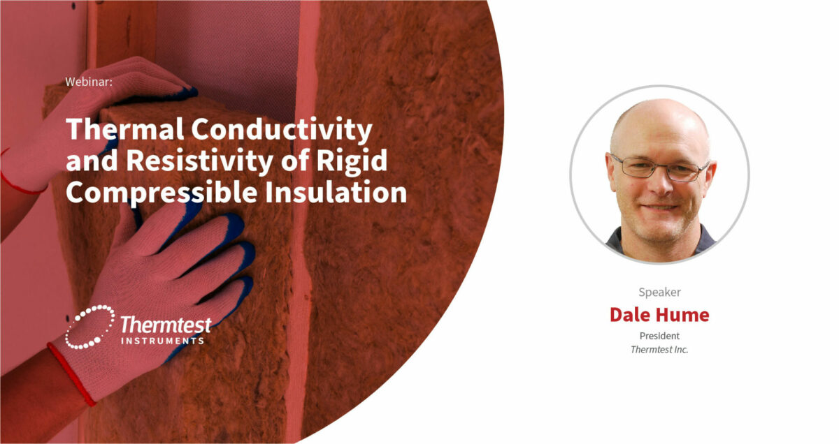 Thermal Conductivity and Resistance of Rigid Compressible Insulation