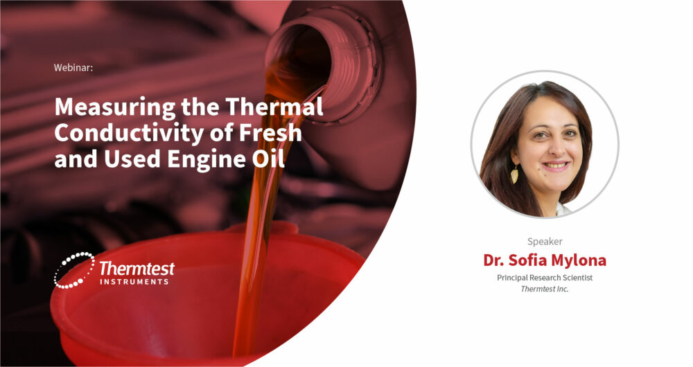 Measuring the Thermal Conductivity of Fresh and Used Engine Oil