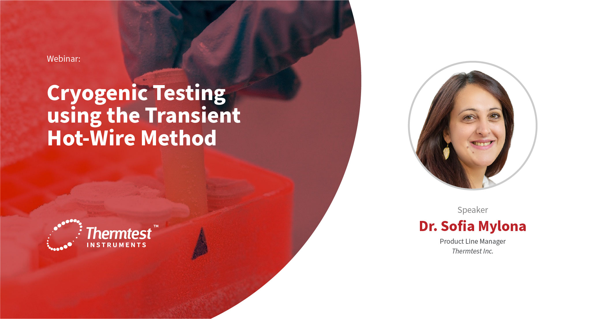 Cryogenic Testing using the Transient Hot-Wire method