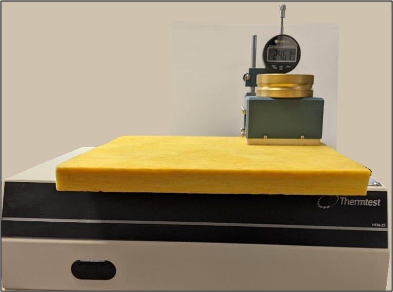 300 x 300 mm piece of NIST 1450D