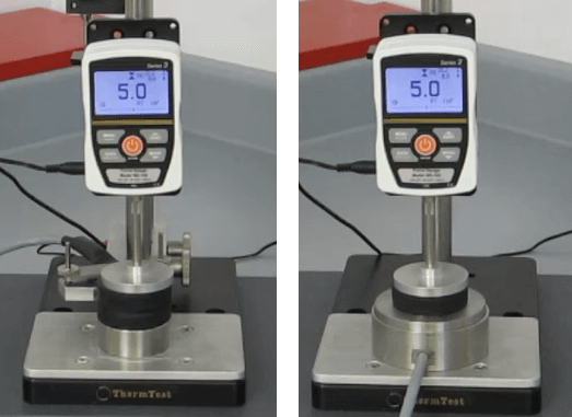 Thermal Conductivity Applications Rubber Testing Set Up