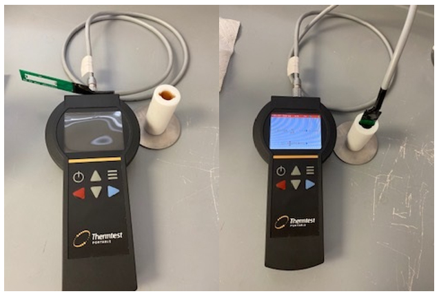 Measuring the Thermal Conductivity of Motor Oil