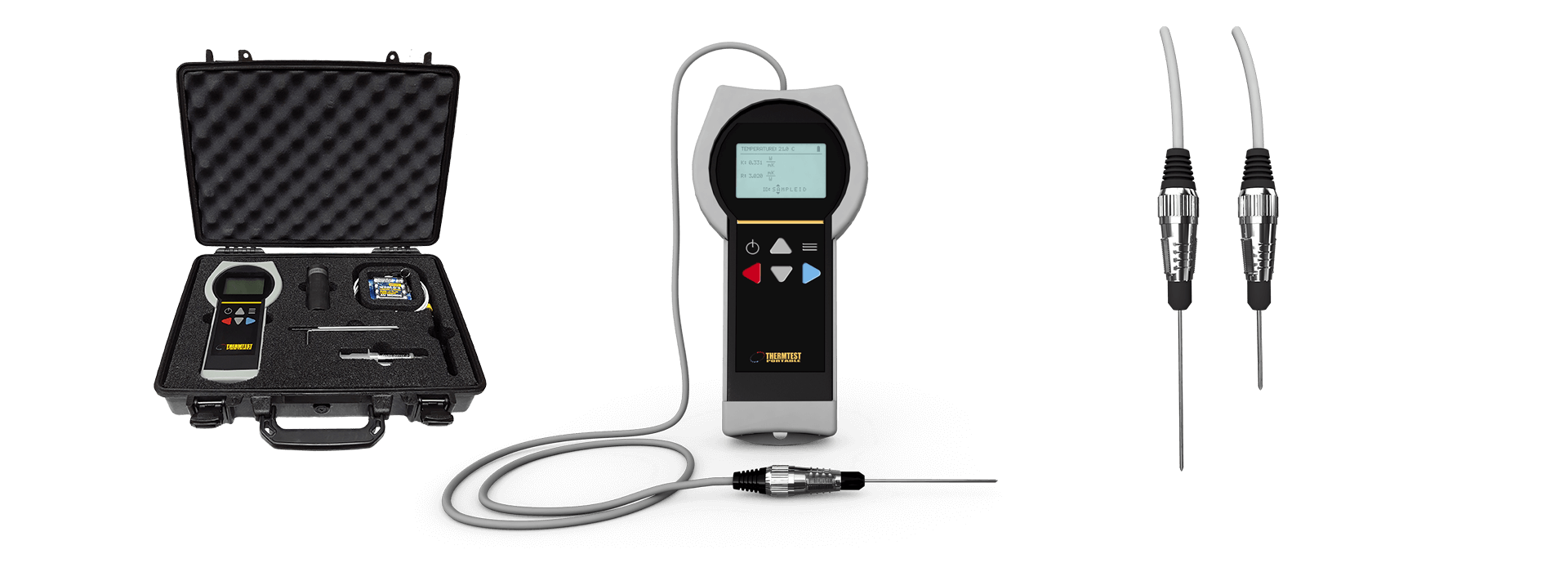 Soil Thermal Conductivity Meter TLS-100 Portable Equipment
