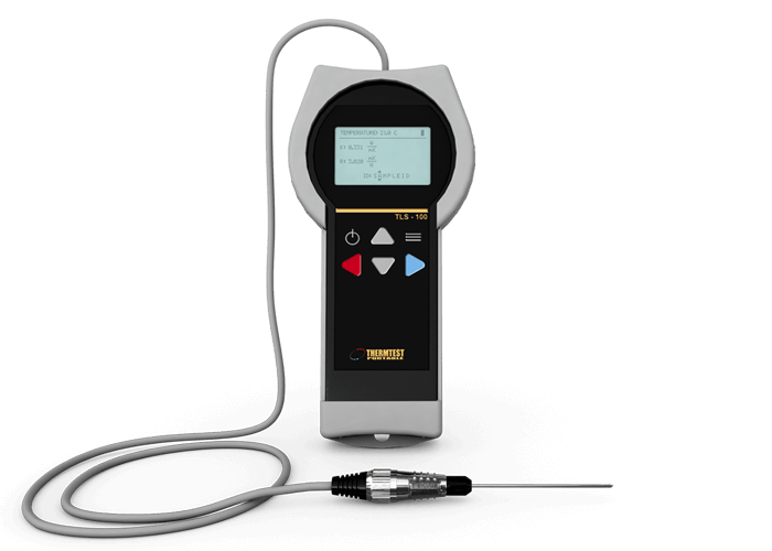 In Line Conductivity Meter : Soil thermal conductivity testing tls