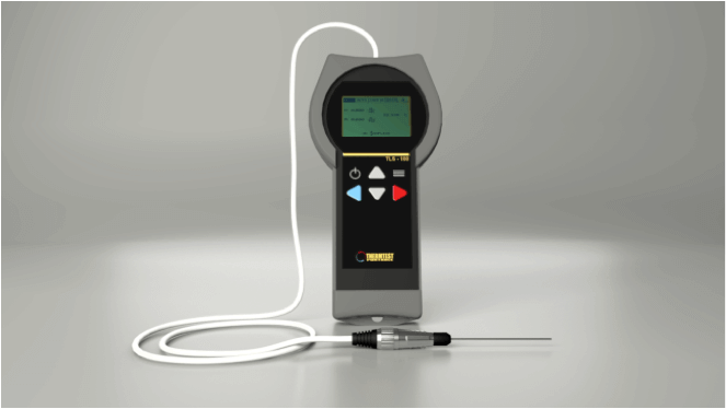 thermal conductivity of ceramic Applications TLS 100 Portable Meter Thermtest
