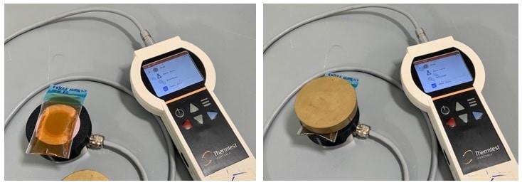 thermal effusance of 10W30 motor oil