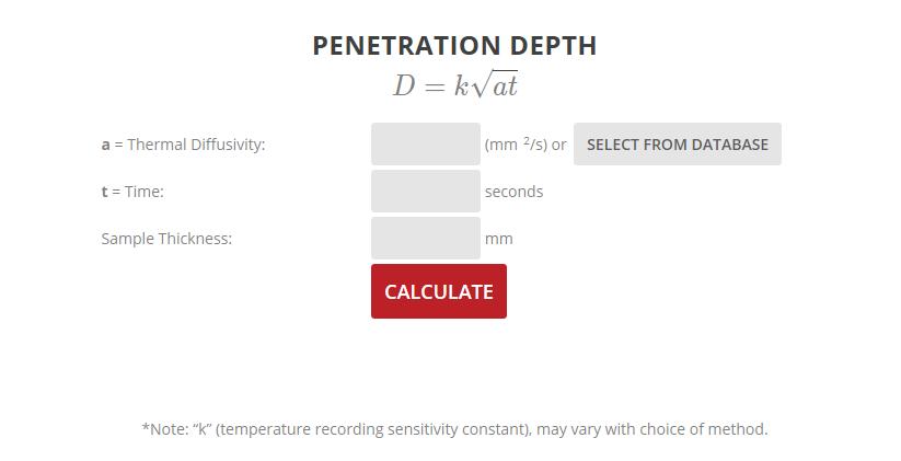 Penetration Calculator