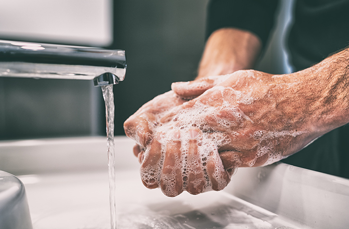 wash hands to protect against covid-19